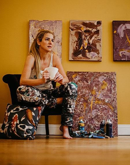 Katja Freimuth Künstlerin in Gedanken