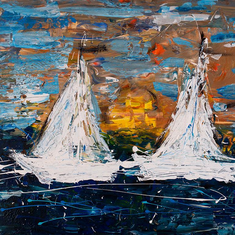 Katja Freimuth Kunstwerk Meer