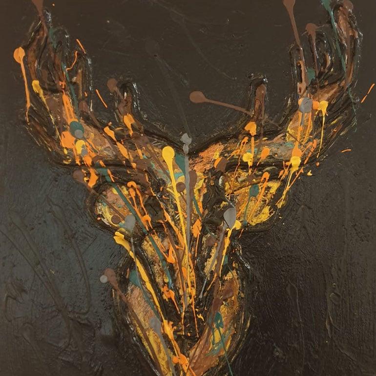 Katja Freimuth Kunstwerk Tiere