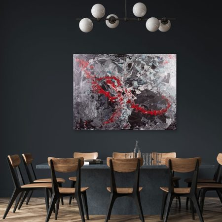 Katja Freimuth Shop Kunstwerk 5 Explosion of a supernova mit Kulisse