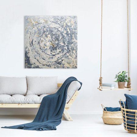 Katja Freimuth Shop Kunstwerk 10 Muschelgehäuse Bivalvia mit Kulisse