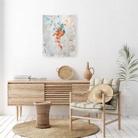 Katja Freimuth Shop Kunstwerk 9 Sternenstaub mit Kulisse