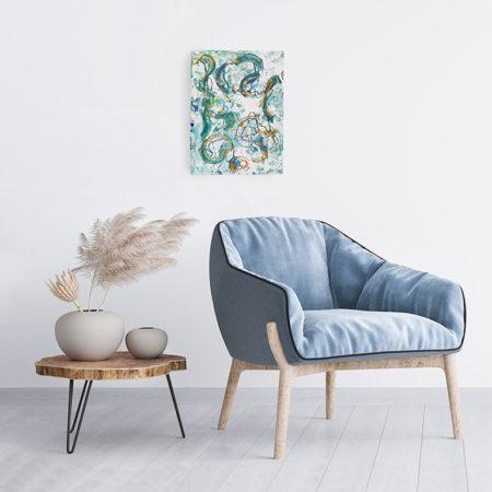 Katja Freimuth Shop Kunstwerk 69 Strandgut mit Kulisse