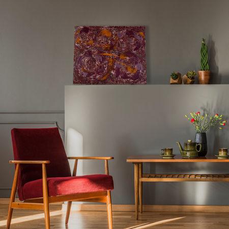 Katja Freimuth Shop Kunstwerk 55 Herbstrosen mit Kulisse