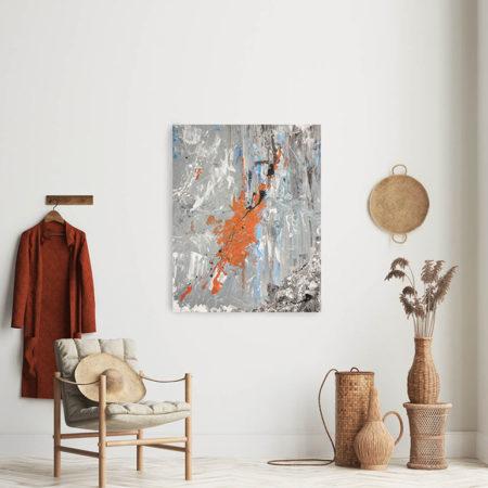Katja Freimuth Shop Kunstwerk 6 Sternenstaub mit Kulisse